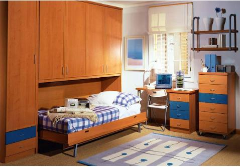 Decorar habitaciones dormitorios juveniles originales - Dormitorios juveniles espacios pequenos ...