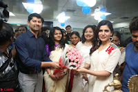 Samantha Ruth Prabhu Smiling Beauty in White Dress Launches VCare Clinic 15 June 2017 024.JPG