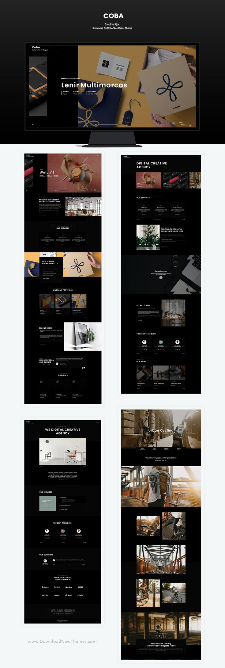 Ajax Portfolio WordPress Theme