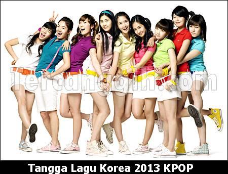 Tangga Lagu Korea KPOP 2013