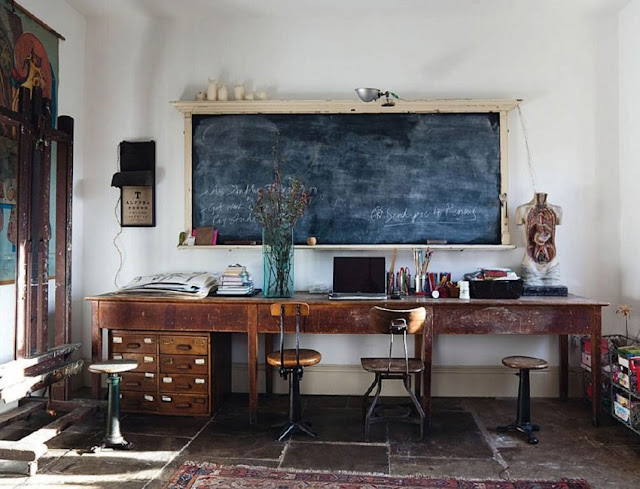 best rustic chic office desk and chair decorating ideas pictures