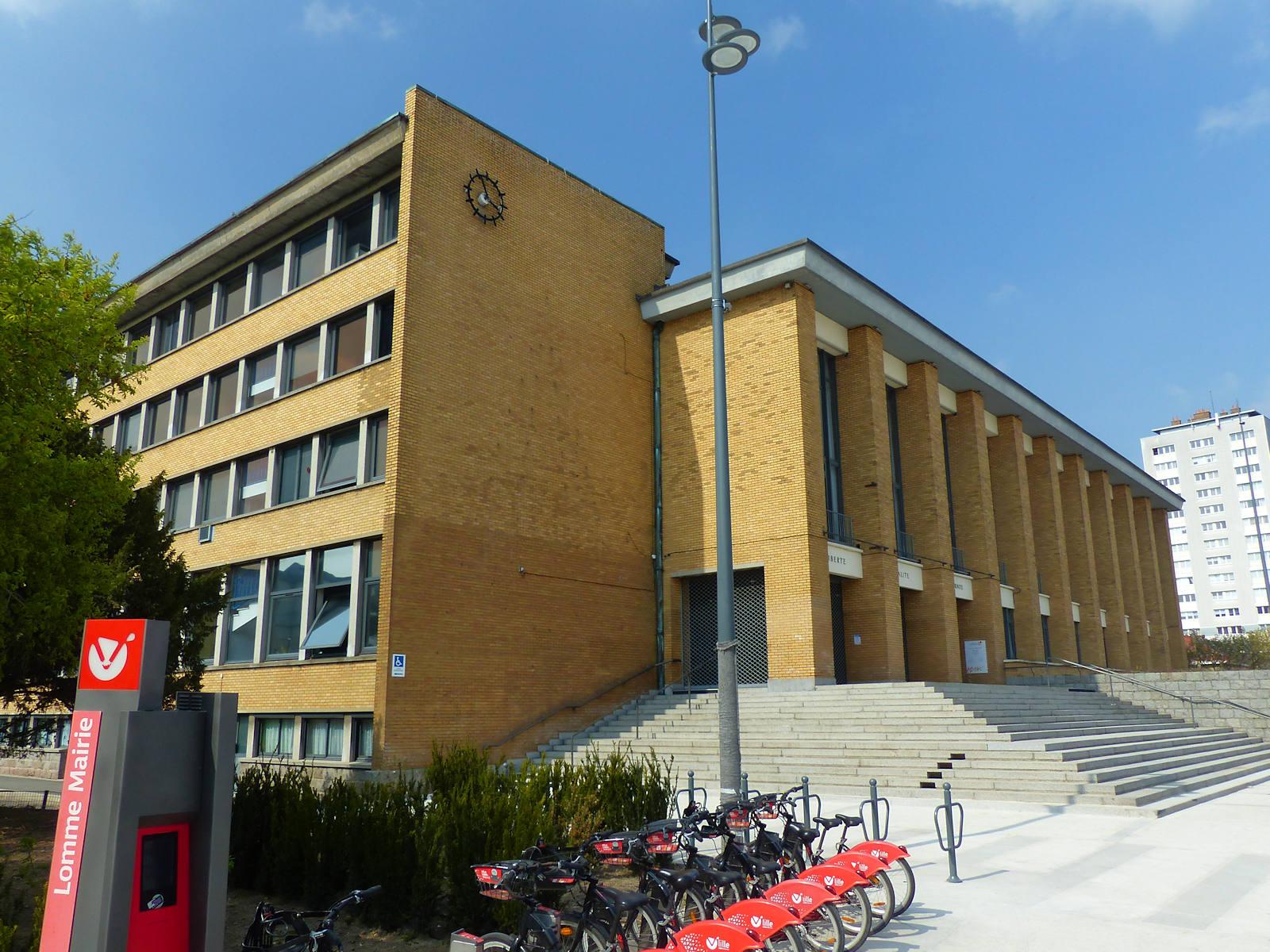 La station V'Lille Mairie Lomme en 2021