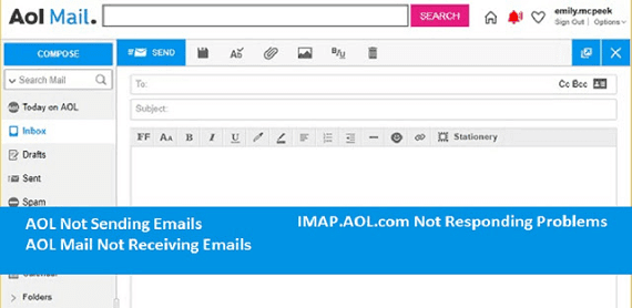 How To Fix AOL Mail Not Receiving and Sending email problems: