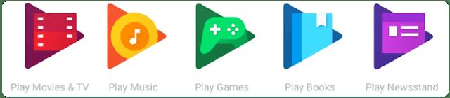 الفئات الأساسية في سوق متجر جوجل بلاي Google Play Store:
