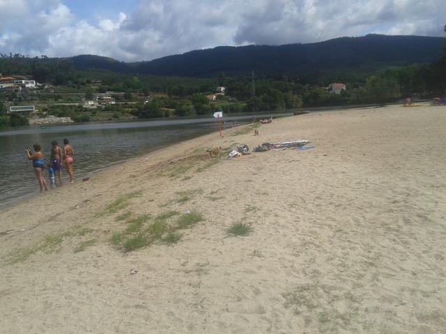Banhistas Praia da Lomba