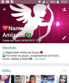 Namoro e Amizade - Link de Grupo WhatsApp de Namoro