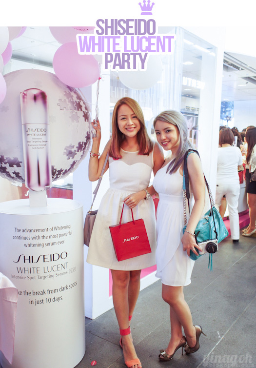 Shiseido White Lucent Party!