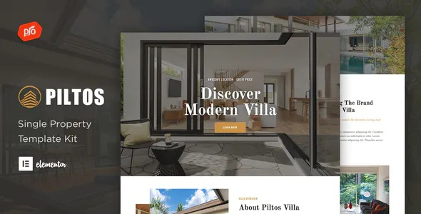 Best Single Property Elementor Template Kit