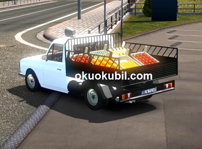 Euro Truck Simulator 2 1.35 50 Yıl Önceki Kral ANADOL Pikap Araba Modu İndir