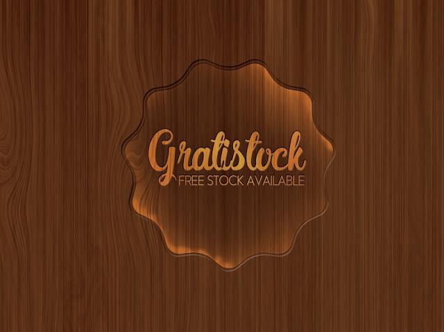 Free Download PSD Of Typography With Wooden Background Design.
