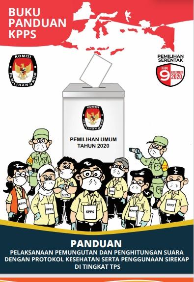 Download Buku Panduan KPPS Pilkada Serentak 2020 PDF