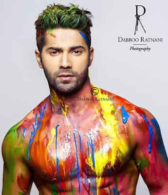Varun Dhawan shoot for Dabboo Ratnani 2016 Calendar
