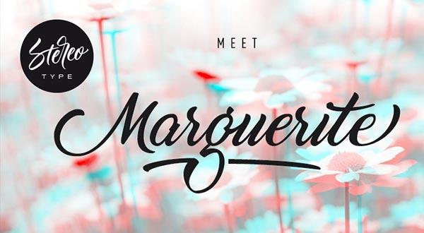 20 Script Font Terbaik 2016 - Marguerite Awesome Free Script Font