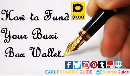 How to Fund Your Baxi Box Wallet