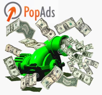 加入PopAds幫你把流量變現金!