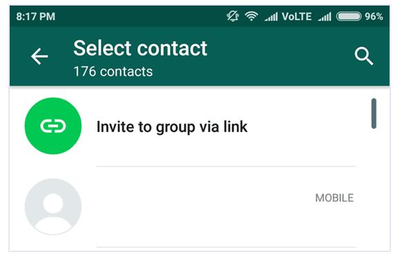 Whatsapp Group Invitation लिंक बनाने का तरीका