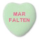 Mar Falten Newfoundland Valentine Candy