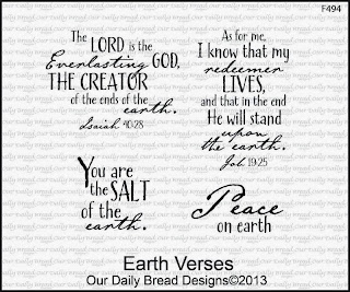 Stamps - Our Daily Bread Designs Earth Verses