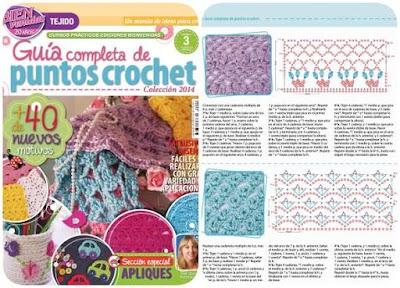 Crochet guía de puntos revista núm-3