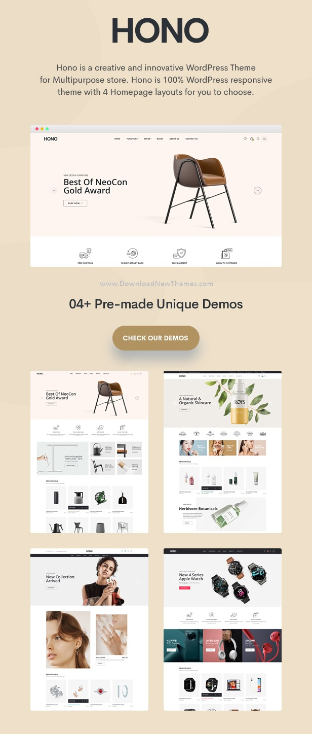 Multipurpose Premium WooCommerce WordPress Theme