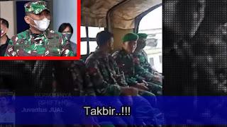 "Viral Prajurit TNI Teriak ""Kami Bersamamu HRS"", Kodam Jaya: Akan Dijatuhi Sanksi Militer"