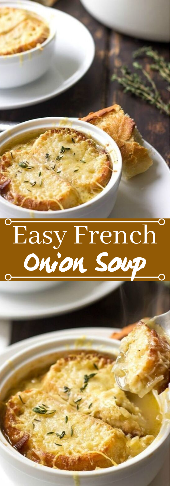 Easy French Onion Soup #dinner #soup