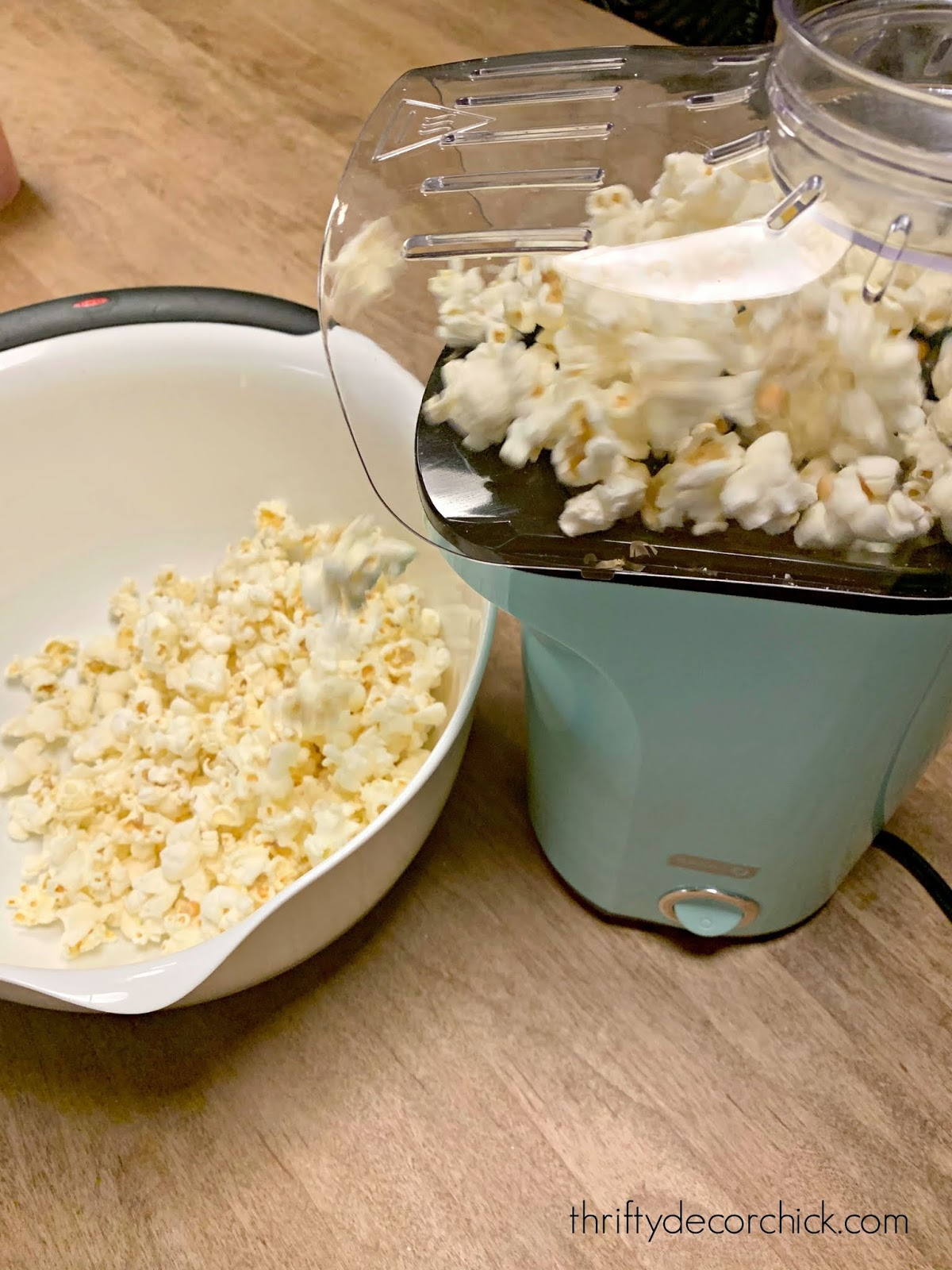 Easy and fast popcorn with Dash popper