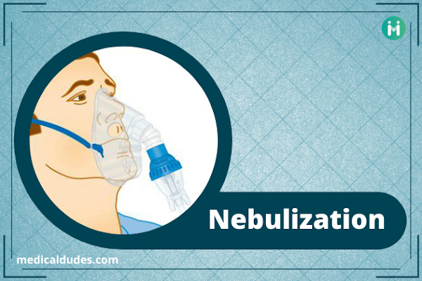 Nebulization : types, uses, procedure in Hindi