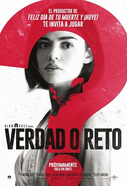 Truth or Dare EXTENDED (Verdad o Reto) (2018) 720p y 1080p WEBRip mkv AC3 subs español
