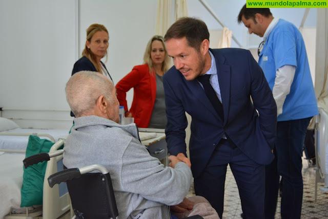 Mariano H. Zapata y Susana Machín visitan las instalaciones del Hospital de Nuestra Señora de los Dolores
