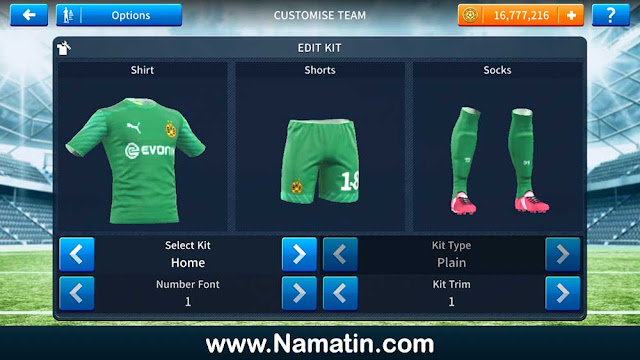 Kaos Dream League Soccer Borrusia Dortmund