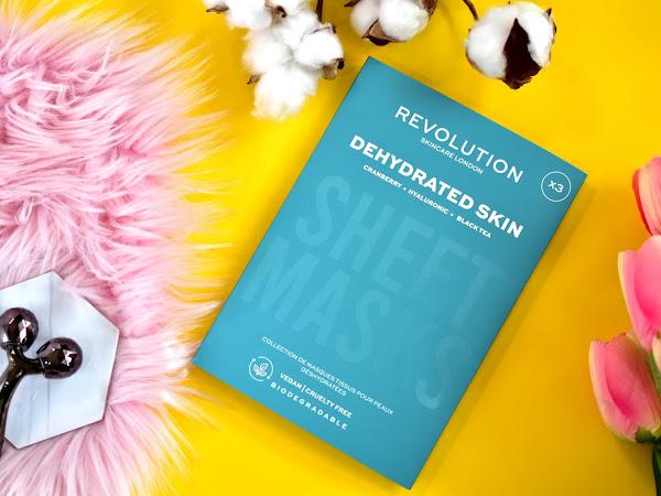 Revolution Skincare set plátených masiek