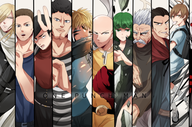 anime one punch man