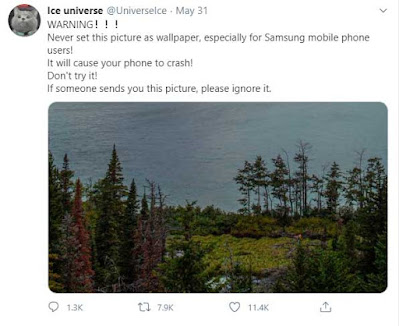 Tweet Ice Universe