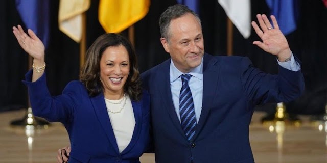 Kamala Harris's husband quits job in preparation for White House role
