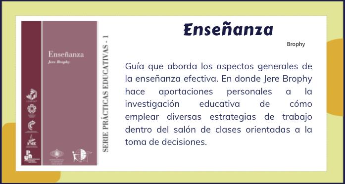 SIMULADOR DE LA ENSEÑANZA - BROPHY