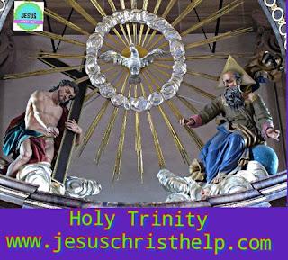 Holy Trinity - Jesus