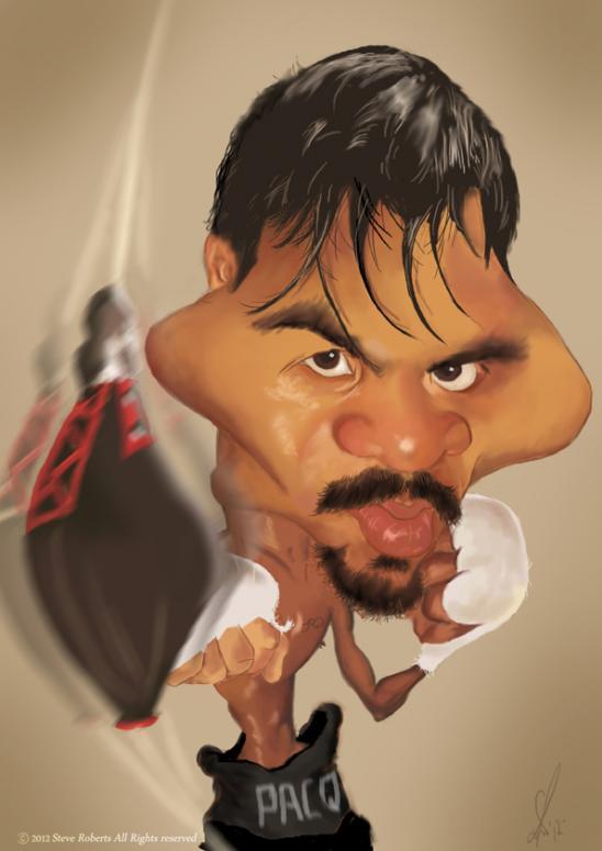 Manny Pacquiao por Steve Roberts