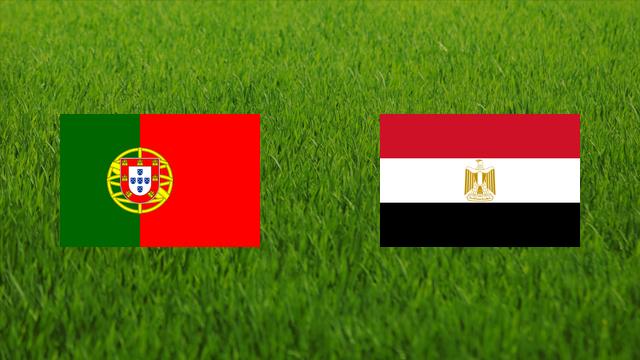 مباراة مصر والبرتغال اليوم