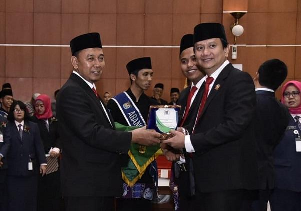 Suparyono Ketua Sementara DPRD Kota Depok Periode 2019-2024