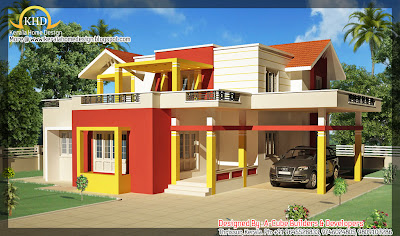 186 square meter (2000 sf.ft) House Elevation - October 2011