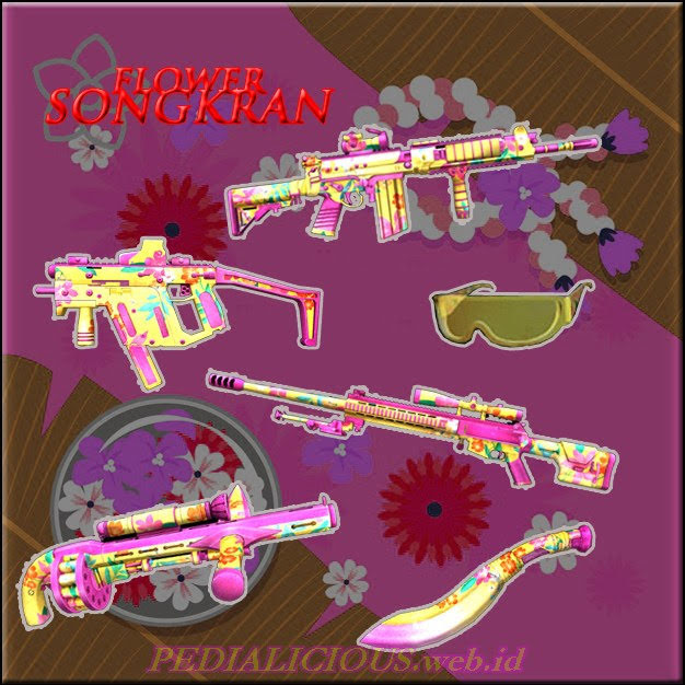 Harga & Status Seri Flower Songkran Senjata Point Blank