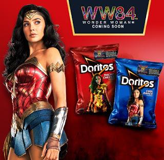 Doritos Wonder Woman 1984 inbox ad