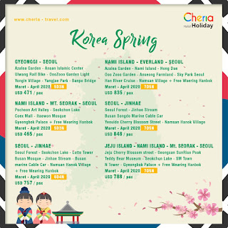 Promo Paket Wisata Halal Korea 2020 Cheria Holiday