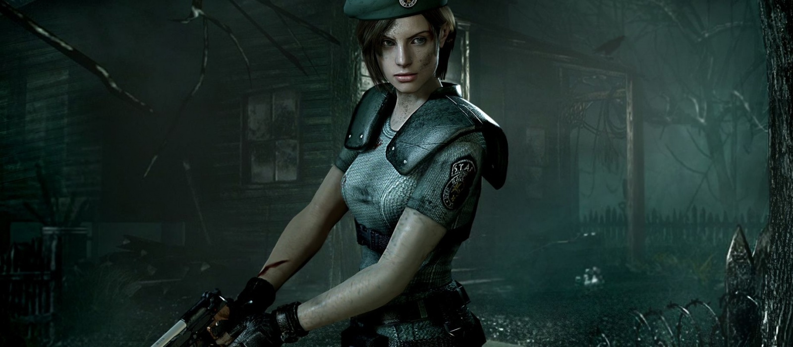 The first Resident Evil launched with ray tracing. The game turned out to be much more detailed