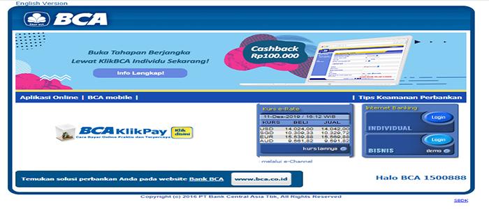 Cara Aktivasi Internet Banking BCA