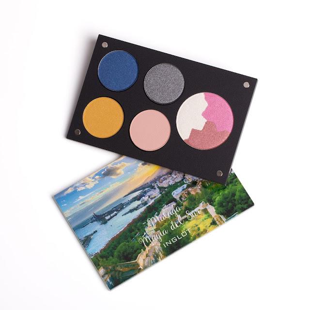 inglot tiempo de color maquillaje makeup paletas sombras colorete iluminador