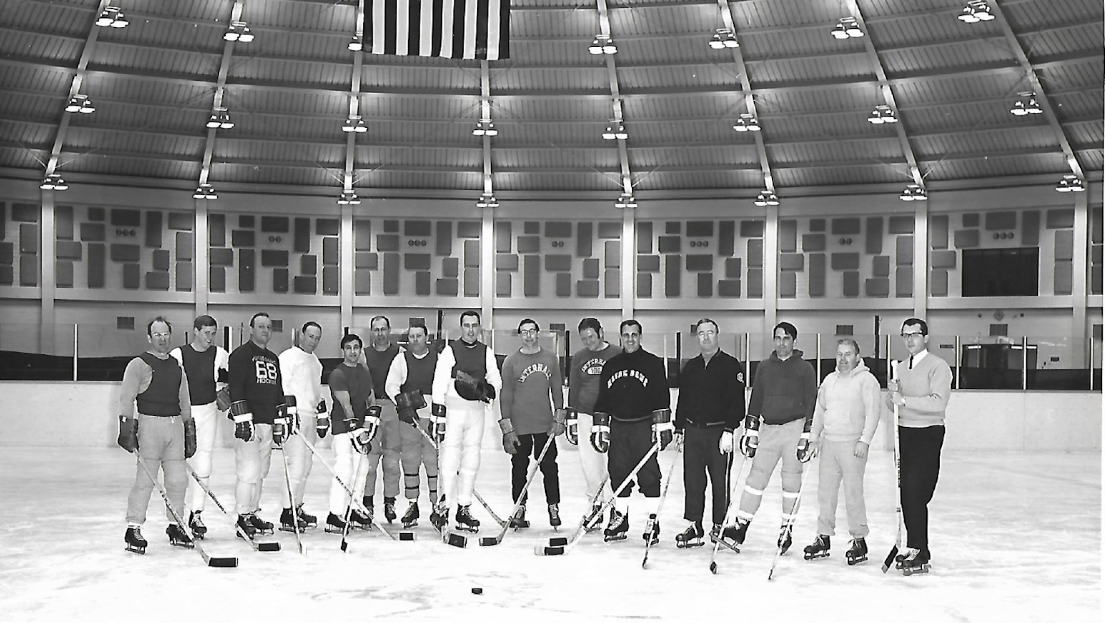 d4b507b8b45 Ara and Paul Shoults, another assistant football coach, are fifth and  fourth from the right, respectively. I don't remember any of the faculty  names.