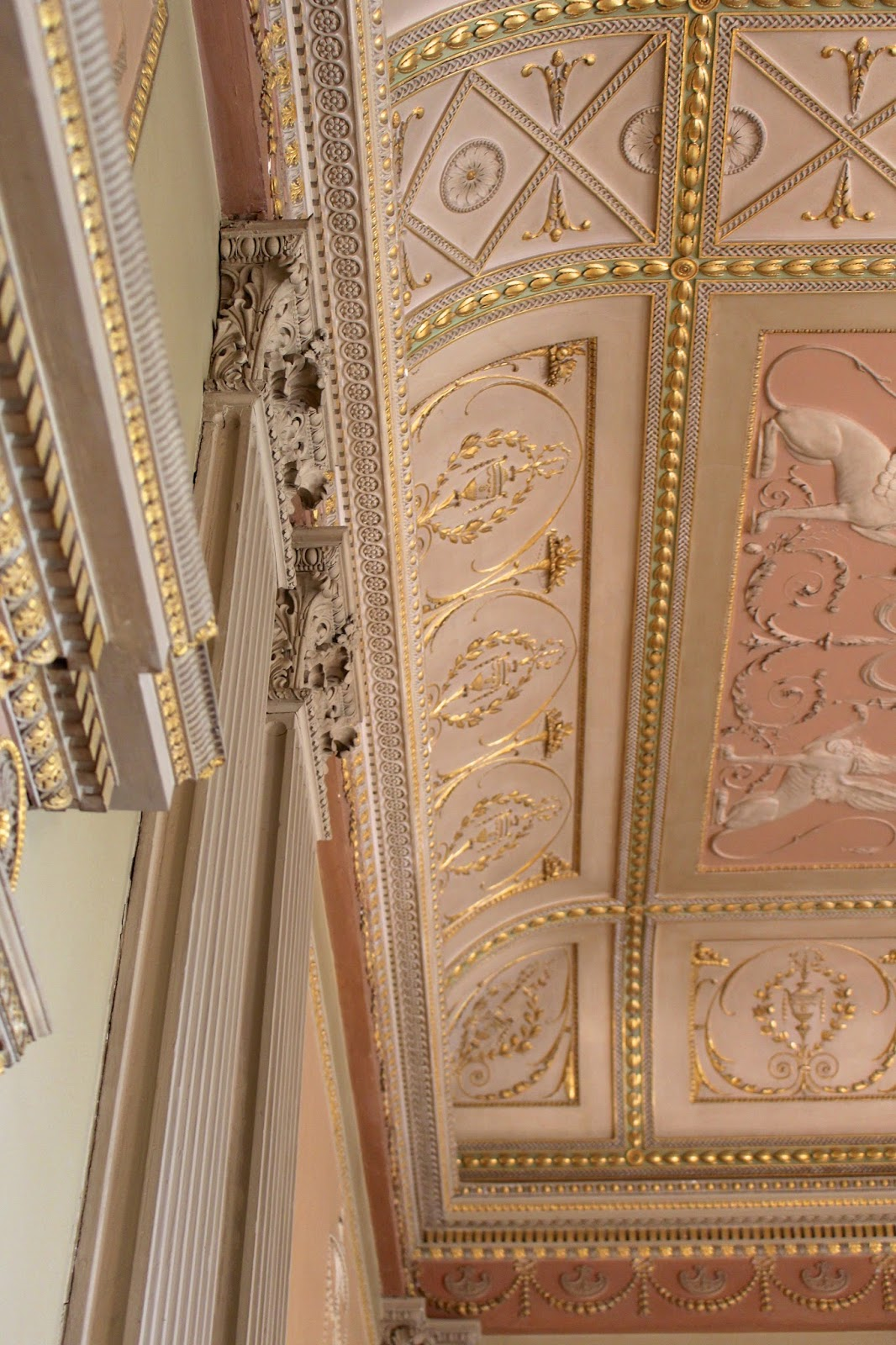 basildon park restoration work photography