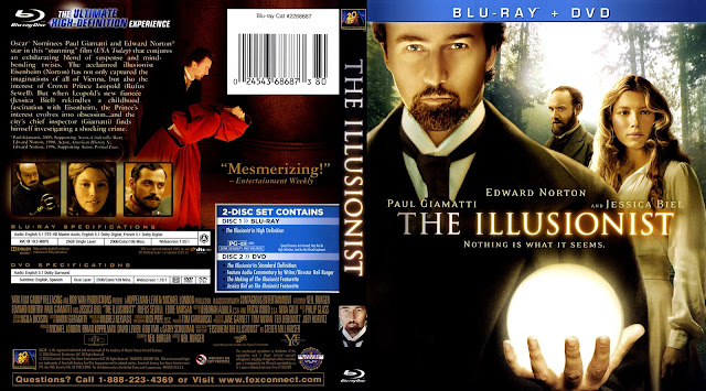 The Illusionist Bluray Cover
